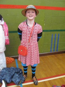 I LOVE World Book Day! It's great when our classes receive such fantastic guests. This year we welcomed (amongst others) Little Red Riding Hood, the Fossil sisters from Noel Streatfield's Ballet Shoes, the daughter of a Roman sea captain, Alice, the White Rabbit and the Boy in the Dress.